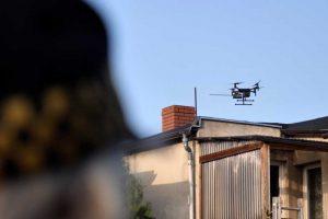 Dron w walce ze smogiem