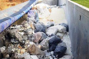 Próba nielegalnego pozbycia się odpadów