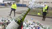 Sylwestrowa zbiórka butelek