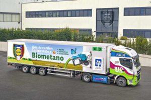 biometan napędzi flotę