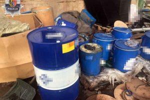 Nielegalne transport i deponowanie odpadów