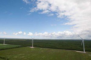produkcji energii z elektrowni wiatrowych