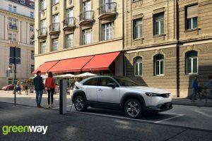 ładowarki samochodów elektrycznych dla Mazdy