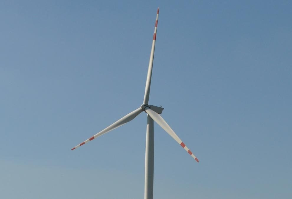 z energią z elektrowni wiatrowych
