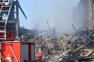 zarzuty za pożar odpadów