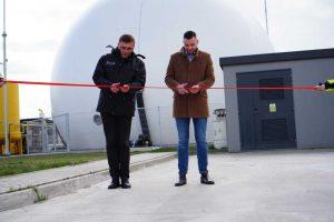 zbiornik do magazynowania biogazu