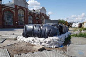 Niebezpieczne odpady zmagazynowane w Gdańsku