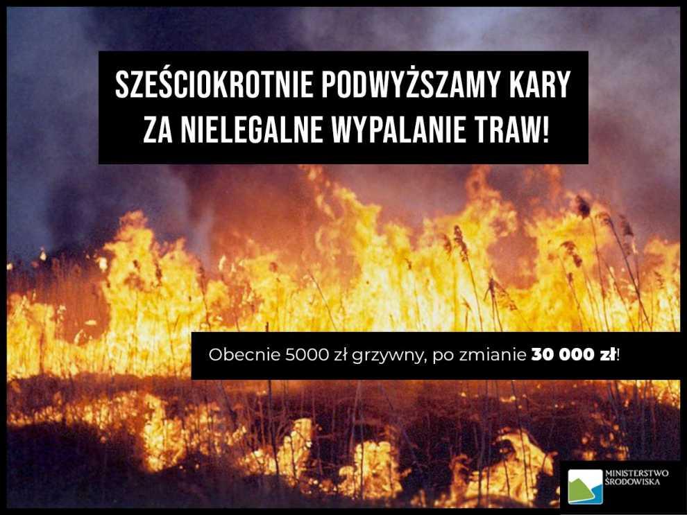 Pożar w BPN-ie