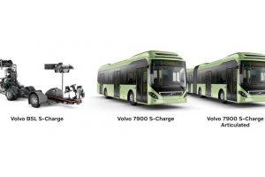 Samoładujący się autobus Volvo