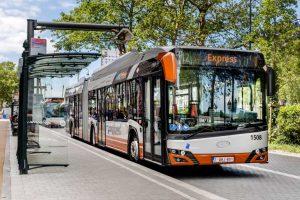 16 przegubowych autobusów elektrycznych
