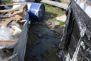 Nielegalne postępowanie z odpadami