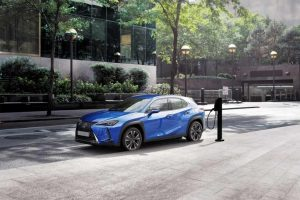 Samochód elektryczny od Lexusa