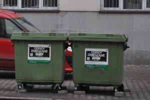 za odpady według zużycia wody