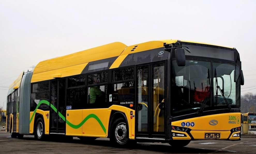 Więcej autobusów elektrycznych