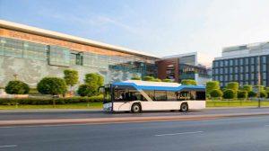 Szkolny autobus elektryczny