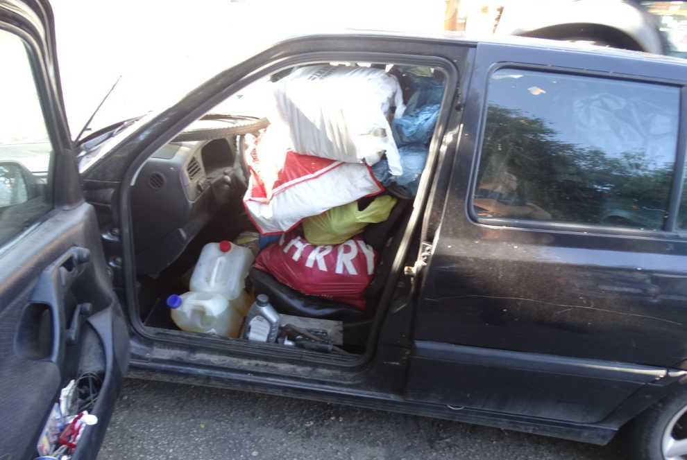 usunięto porzucone odpady