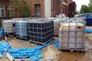 Pojemniki z niebezpiecznymi odpadami