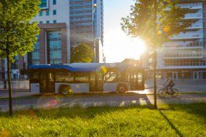Dziewięć autobusów elektrycznych