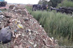 Nieodpowiednie postępowanie z odpadami
