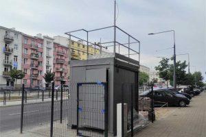 stacja monitoringu jakości powietrza