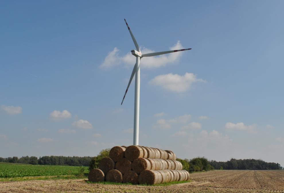 rozwój lądowych elektrowni wiatrowych