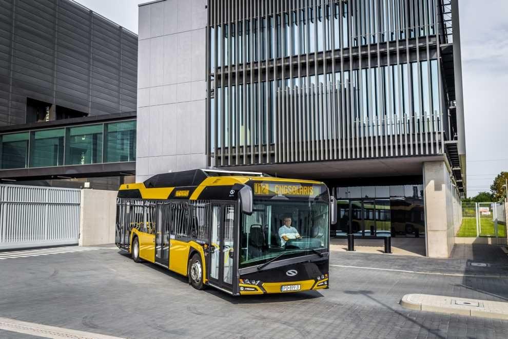 100 autobusów napędzanych gazem