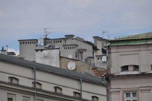 Powietrze w stolicy Małopolski