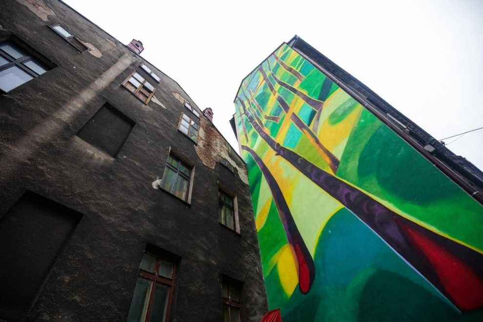 Proekologiczny mural