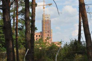 Kontrola budowli w Stobnicy