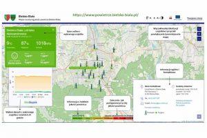 System monitoringu jakości powietrza