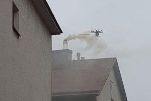 Dron mierzył jakość powietrza