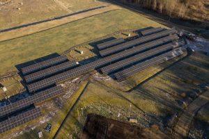 Farma fotowoltaiczna na zrekultywowanym składowisku