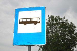osiem autobusów elektrycznych