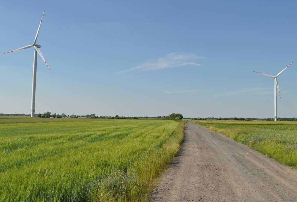 Rozwój lądowych farm wiatrowych