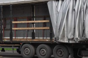 Transport odpadów o wadze 7,8 ton