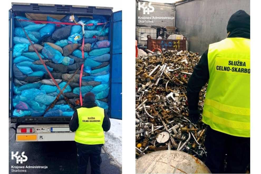 Dwa nielegalne transporty odpadów