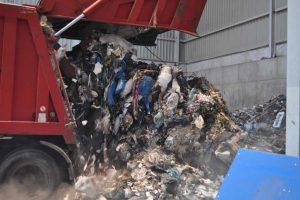 Prawie 225 mln ton odpadów