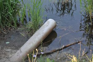 Bezprawnie wykonane urządzenia wodne