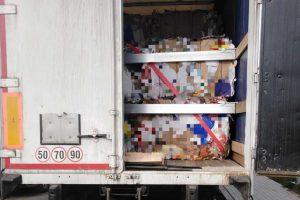 Transport makulatury z uchybieniami