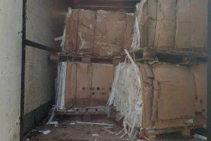Transport odpadów z produkcji wanien