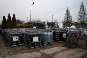 W sprawie nielegalnego przewożenia i składowania odpadów