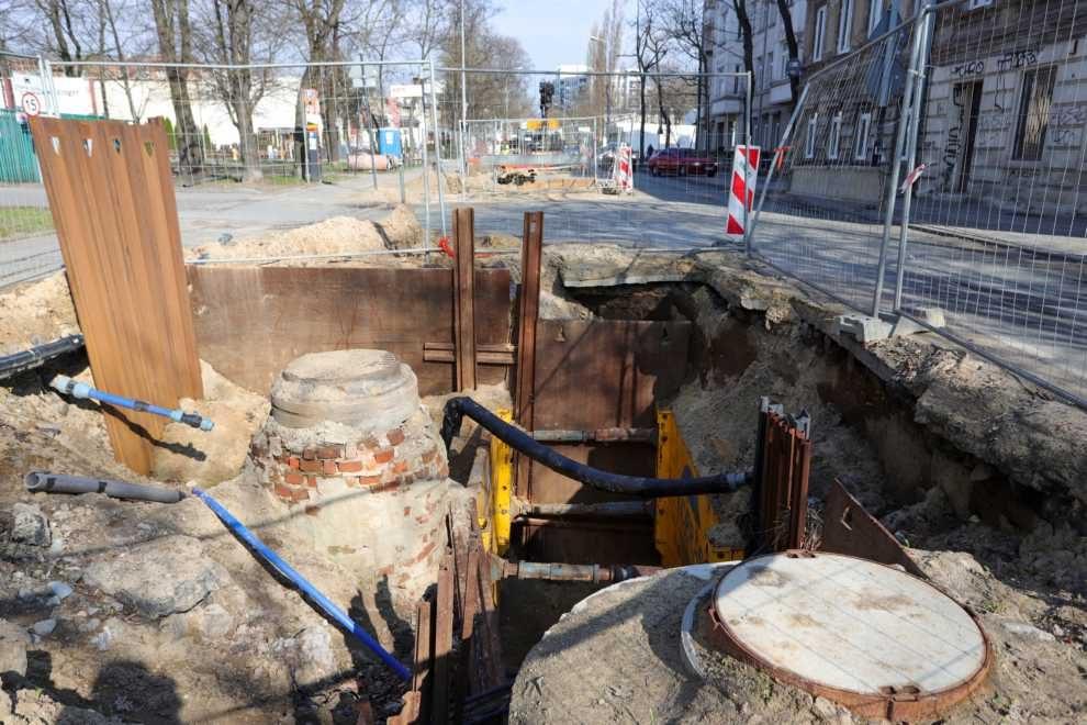 Intensywne prace w całej Łodzi