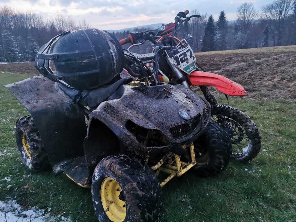 Zatrzymania motocrossowców
