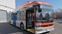 Siedem autobusów gazowych