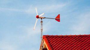 Prototyp przydomowej elektrowni wiatrowej