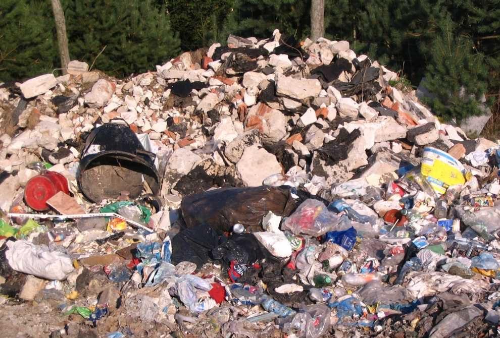 Zjawisko porzucania odpadów