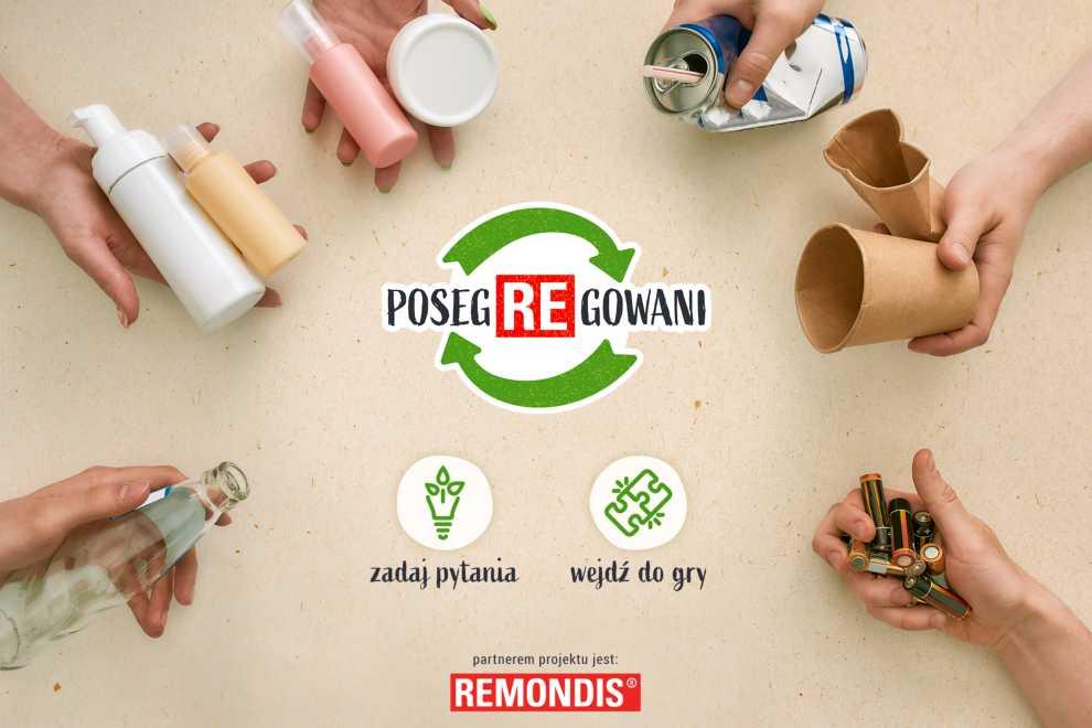 "Rusza projekt pn. ""PosegREgowani"""