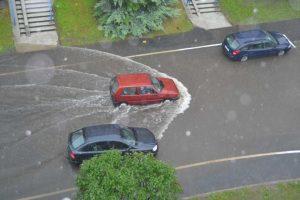 Zbieranie deszczówki w miastach