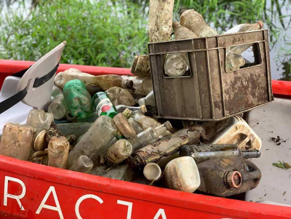 Ponad 210 ton odpadów
