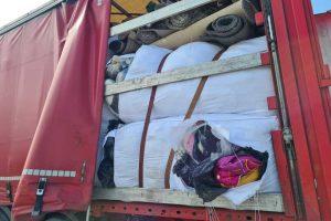 Transport odpadów tekstylnych